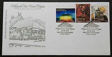 2008 Malaysia Treasures of Visual Arts FDC Cachet Variety without BIRO FILATELI