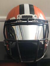 MIRROR Chrome Football Helmet Visor Eye Shield Full size helmet Universal fit