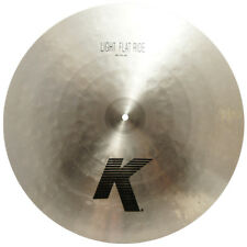 "Zildjian K0818 20"" Light Flat Ride Cast Bronze Drumset Cymbal Thin Weight - Used"