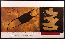 Scott Sandell Black Coral gallery art show poster FREE US SHIPPING MAKE OFFER!