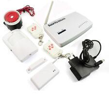 Systeme alarme sans fil de maison téléphonique GSM 10 zones  DP-200
