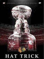 Hat Trick 2015 Chicago Blackhawks Stanley Cup Champions Blu-Ray NHL Hockey
