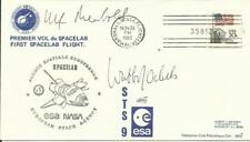 Ulf MERBOLD/Wubbo OCKELS - 1er Vol du SPACELAB - Signatures des 2 astronautes