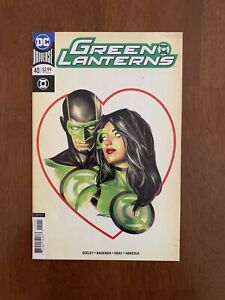 Green Lanterns #40 (Apr, 2018 DC) Romance variant cover / NM Hot