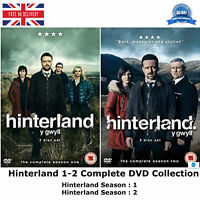 Hinterland Series 1-2 Complete Collection Y Gwyll Season 1 & 2 + Extras UK DVD