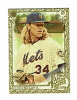 2019 Topps Allen & Ginter Gold #44 Noah Syndergaard New York Mets