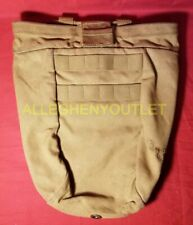 US Military USMC ROLL-UP DUMP POUCH 10 MAGAZINE w/ CORD LOCK Molle PALS COYOTE