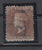 C2918/ BRITISH ST VINCENT – VICTORIA – SG # 14 USED – CV 195 $