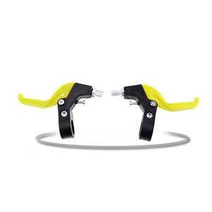 1 Pair Brake Levers V-Brakes Set Handle Gear For BMX MTB Mountain Bike Bicycle