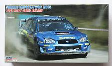 HASEGAWA 1/24 SUBARU Impreza WRC 05 Rally Great Britain Cartograf & etched parts