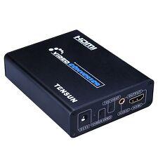 PS2 3RCA NES SNES N64 Genesis Jaguar to HDMI Converter Upscale Retro Gaming HDTV
