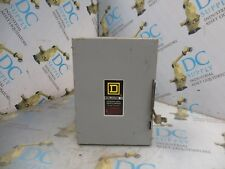 SQUARE D D221N SER E2 30 A 240 VAC 7½ HP 3 PH 2 P SAFETY SWITCH