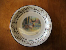 "Bass Pro Shops OLD MOSSY HORNS Dinner Plate 10 1/2""    4 available"
