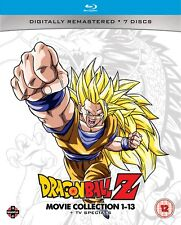Dragon Ball Z: Movie Collection 1-13 + TV Specials (Box Set) [Blu-ray]