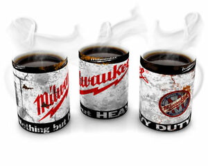 MILWAUKEE TOOL Vintage Retro Cool 10 oz Coffee Tea Mug Gift -Garage Mechanic DIY