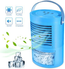 Evaporative Portable Air Conditioner Mini Cooler Fan Humidifier Air Cooling Fan