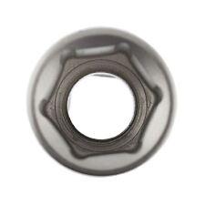 "17mm 1/2"" Dr Socket Super Lock Metric Shallow CRV Knurl Grip 6 Point TE798"