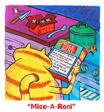 "Matt Rinard ""Mice-A-Roni"" Limited Edition Lithograph"