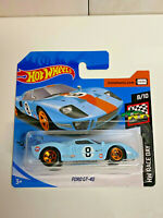 2020 Hot Wheels HW Race Day Ford GT-40 35/250 Short Card VHTF NIP RARE