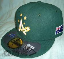 New Era Australia World Baseball Classic Team 59Fifty Fitted Cap Hat Green 7 1/4