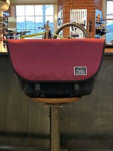 BaileyWorks SuperPro Messenter Bag Size Medium, Color Burgundy