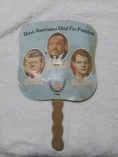 Vintage( These Americans died for freedom) Collectible Hand Fan