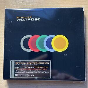 Schiller **WELTREISE**, CD/DVD, Limited Deluxe Edition, neuwertiger Zustand**