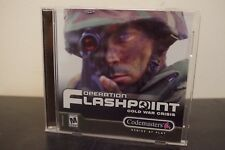 Operation Flashpoint: Cold War Crisis (PC, 2001) Tested / Complete Jewel Case