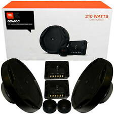 "JBL GX600C 210W GX Series 6.5"" 2-Way Car Component Speakers Tweeters System Set"