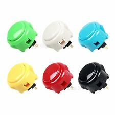 6x Sanwa Buttons Arcade Sanwa OBSF-30 Push Button 30mm Each Colors of 1 Pcs Mame