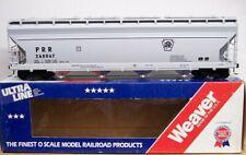 New ListingWeaver O Scale Ultra Line Prr Pennsylvania Centerflow Hopper 2 Rail