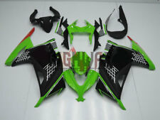 Fit 2013-2016 Kawasaki Ninja 300 Monster Energy Fairings Kit Bodywork ABS green