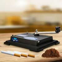 Electric Automatic Cigarettes Rolling Machine Tobacco Injector Maker Roller NEW