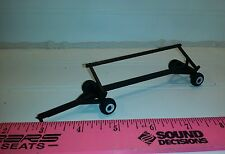 1/64 ertl farm toy black Plastic standi toys header cart trailer free shipping!