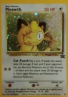 MEOWTH Pokemon PROMO Holo Card #10 BLACK STAR TCG Unplayed NM/M