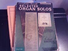 ed Diggle: Everybody's Favorite Organ Solos, vol. 37, organ (Amsco)