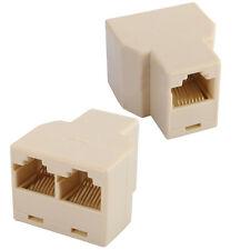 Pour CAT5 6 RJ45 Câble Ethernet LAN Ports 1 à Prise 2 Séparateur