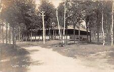 B81/ Brainerd Minnesota Mn Real Photo Rppc Postcard c1930s Lum Park Pavilion