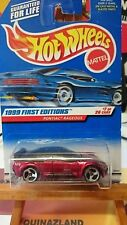 Hot Wheels First Editions Pontiac Rageous 1999-675 (9998)