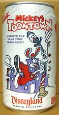 DIET COCA-COLA MICKEY'S TOONTOWN Soda CAN Disneyland, Atlanta, GEORGIA 1992 gd.1