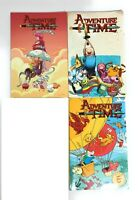 Lot 3 Adventure Time Graphic Novels Book Set Cartoon Network