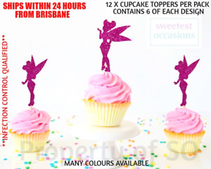TINK TINKERBELL Cupcake Toppers x 12 per pack