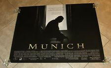 MUNICH movie poster ERIC BANA, STEVEN SPIELBERG (UK Quad Movie Poster)