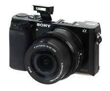 Sony a6000 24.3 MP Mirrorless Digital Camera with 16-50mm f/3.5-5.6 OSS Lens