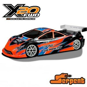 SERPENT 400033 MEDIUS X20 MID CARBON 1/10 190mm ELETTRICA