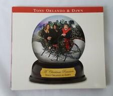 Tony Orlando & Dawn A Christmas Reunion CD 2005 Signed