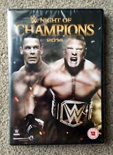 WWE NIGHT OF CHAMPIONS 2014 BRAND NEW SEALED DVD. FREE 1ST CLASS DELIVERY.