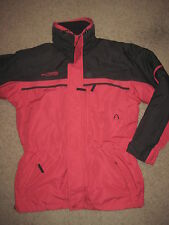 Columbia 3 in 1 Parka Jacket (Small) Red Heavy Ski - Zip out jacket