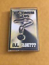 DJ CLUE Platinum Plus CLASSIC 90s Hip Hop NYC Mixtape Cassette
