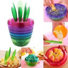 New 10 in 1 Fruit Salad Maker Vegetable Slicer Kitchen Tools Cutter Corer Masher
